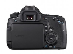 EOS 60D BODY BCK LCD CLOSED