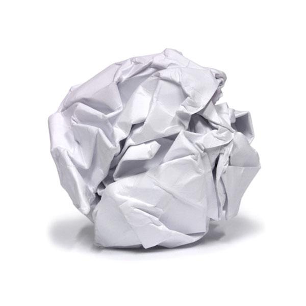 Kağıdı Çöpe Dönüştürmek