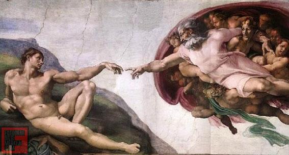 7 tavan Pillar2-Supernatural-GodCreates-Man-Sistine-Chapel