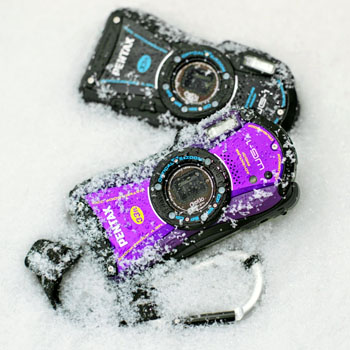 Pentax WG1 kara kışa hazır
