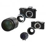 Nikon 1 ve Pentax Q için yeni adaptörler