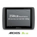 Archos'dan 250GB'lık Tablet
