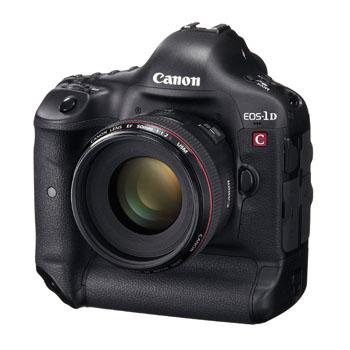 Canon EOS-1D C Tanıtıldı