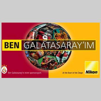 Nikon, Galatasaray'a sponsor oldu!