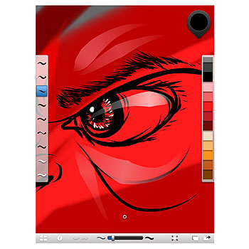 iPad'inizde çarpıcı çizimler