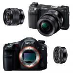 Sony NEX-6 ve SLT-A99