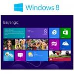 Yepyeni arayüzü ile Windows 8