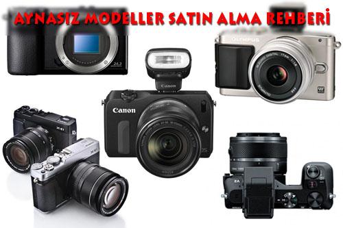 Tüm Aynasız Fotoğraf Makineleri (CSC)
