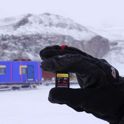 SanDisk 'en soğuk' yolculuğa çıkıyor