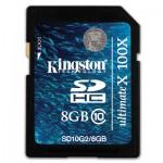 Kingston UltimateX 8GB SDHC