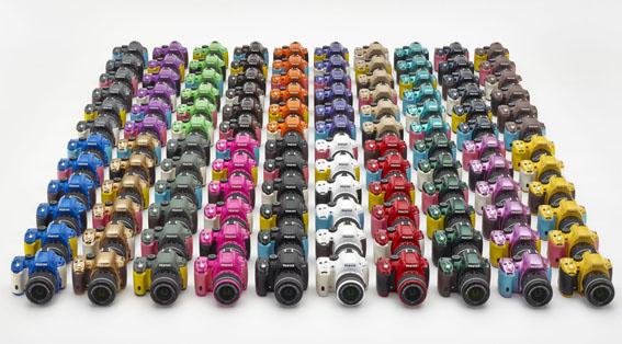 120 Farklı Gövde Renkli Pentax K-50