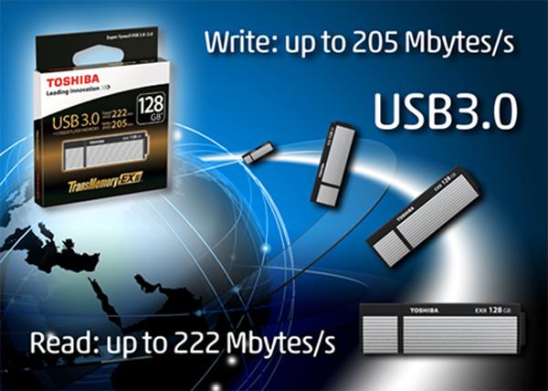 Toshiba'dan Yüksek Kapasiteli USB'ler