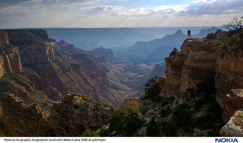 Sunset at Cape Royal on the North Rim of the Grand Canyon.
