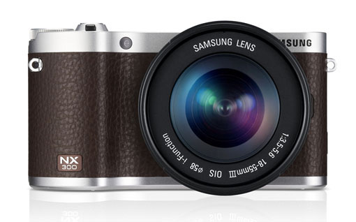 NX300 brown with 18-55