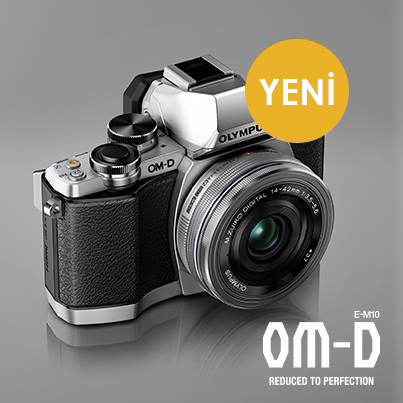 Olympus OM-D Üçlemesine Yeni Üye E-M10
