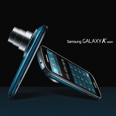 Galaxy K zoom_Electric Blue
