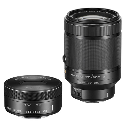 Nikon 1 Serisine iki yeni objektif