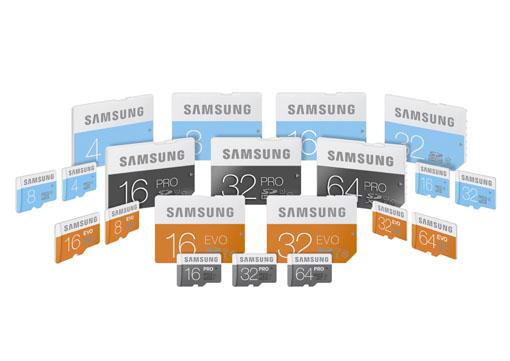 Samsung yeni hafıza kartı serisi