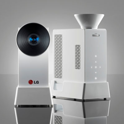 LG Mini Beam Projektör