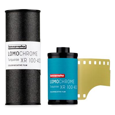 Lomochrome Turquoise XR 100-400 Film