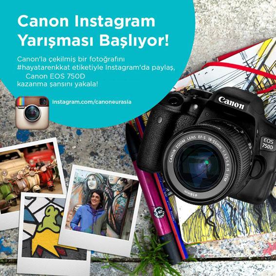 Canon Instagram Yarışması Düzenliyor