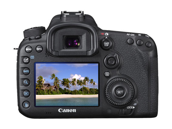EOS 7D Mark II BODY Back