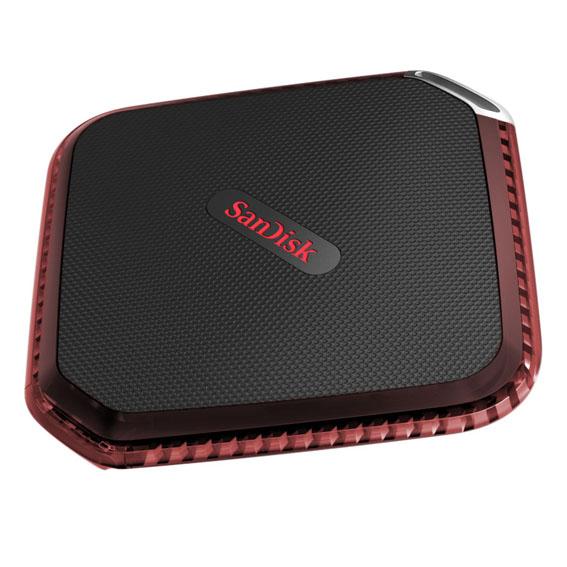 SanDisk'ten su geçirmez ve taşınabilir SSD