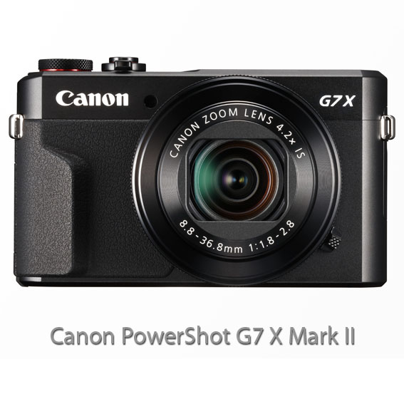 PowerShot G7 X Mark II FRT