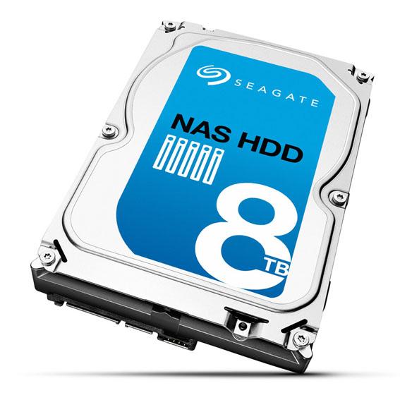 Seagate'in 8TB'lık NAS Diski Satışta