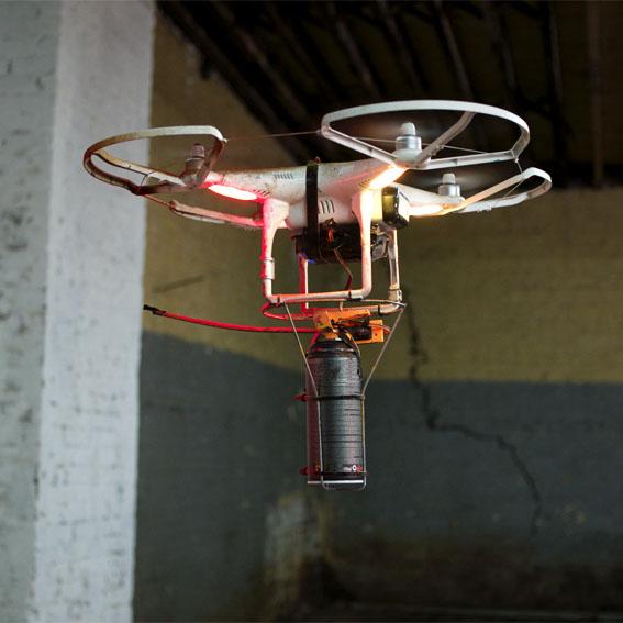 Kendini imha eden drone'lar geliştirildi