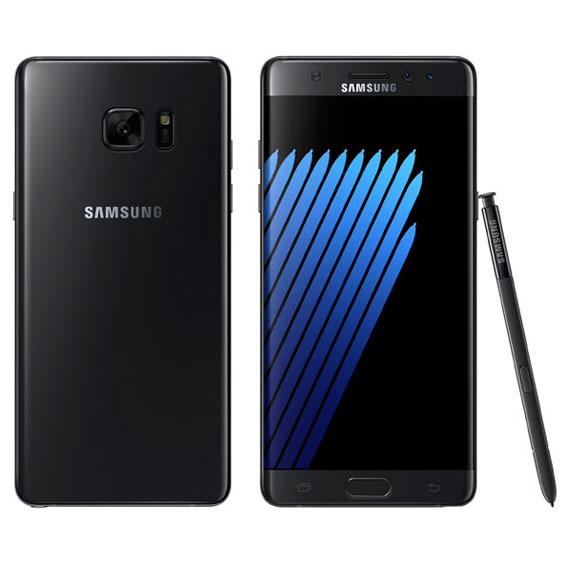 Samsung Galaxy Note7'yi Tanıttı