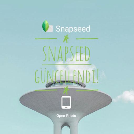 Snapseedguncellendi - Profesyonellerin açık ara tercihi Snapseed