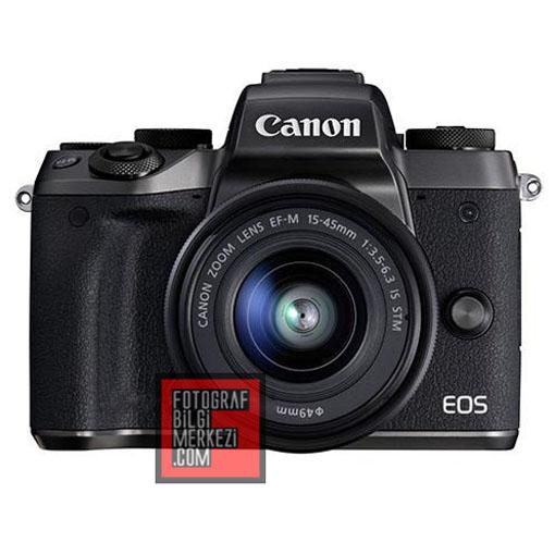Canon EOS M5'den ilk bilgiler…