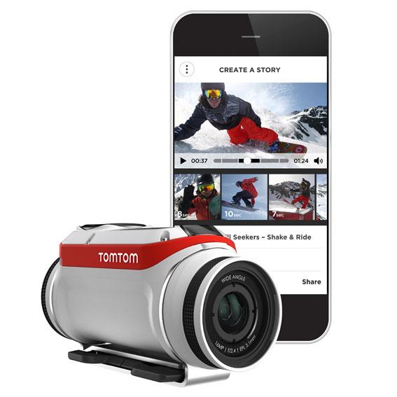 TomTom'un aksiyon kamerası Bandit