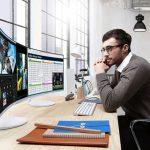 Yeni Samsung Quantum Dot Kavisli Monitör