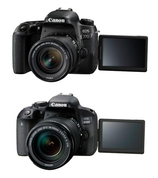 77 800 - Canon EOS 77D ve EOS 800D