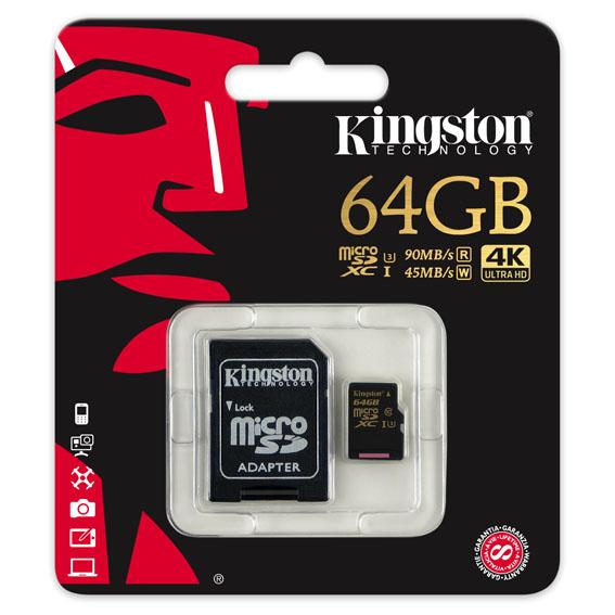 kmicrosd - Kingston'dan Aksiyon Kameraları ve Drone'lara özel