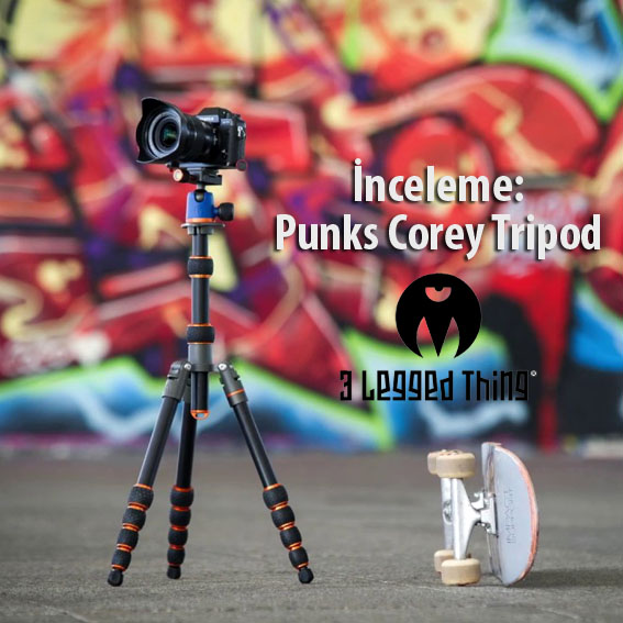 İnceleme: 3 Legged Thing Corey Tripod