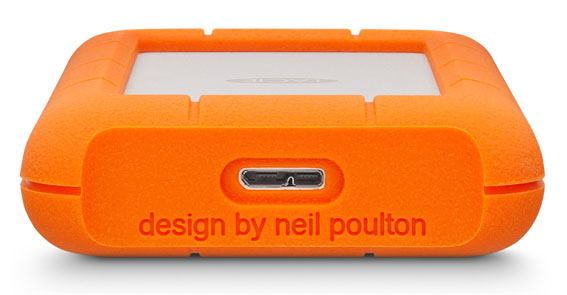 Rugged Mini k2 - İnceleme: Lacie Rugged Mini 4TB