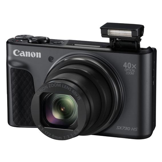 1493190714 PowerShot SX730 HS BK FSL Flash Up - Canon PowerShot SX730 HS