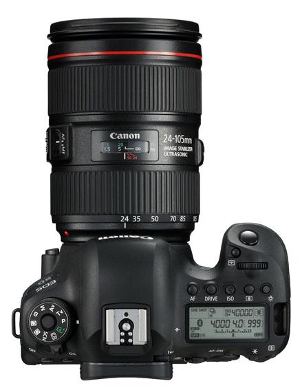 EOS 6D Mark II Down EF24 105mm F4L II USM TOP - Canon EOS 6D Mark II