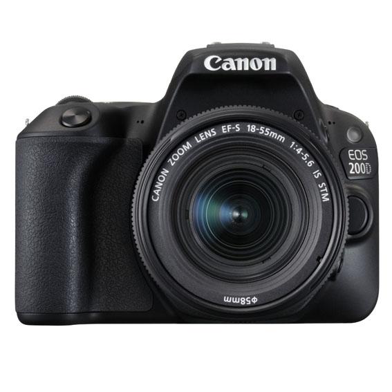 1498819161 EOS 200D EF S18 55ISSTMf4 5.6 FRT - Canon EOS 200D