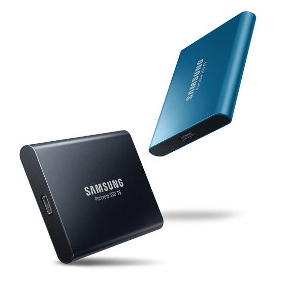 Samsung'dan Yeni Taşınabilir SSD T5