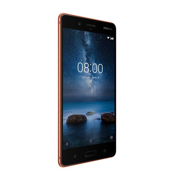1507109210 Nokia 8 Polished Copper - Nokia 8 Türkiye'de…