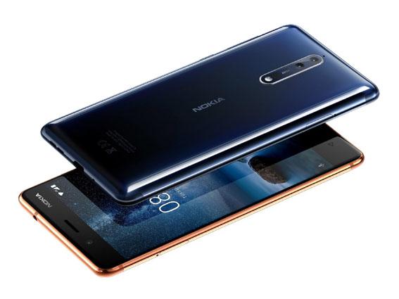1507192822 nokia 8 polished blue and polished copper - Nokia 8 Türkiye'de…