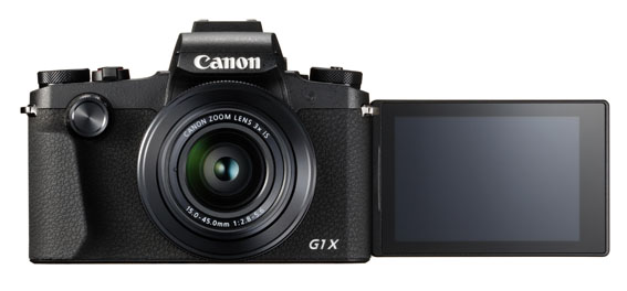PowerShot G1 X Mark III Front LCD Out - İnceleme: Canon Powershot G1 X Mark III