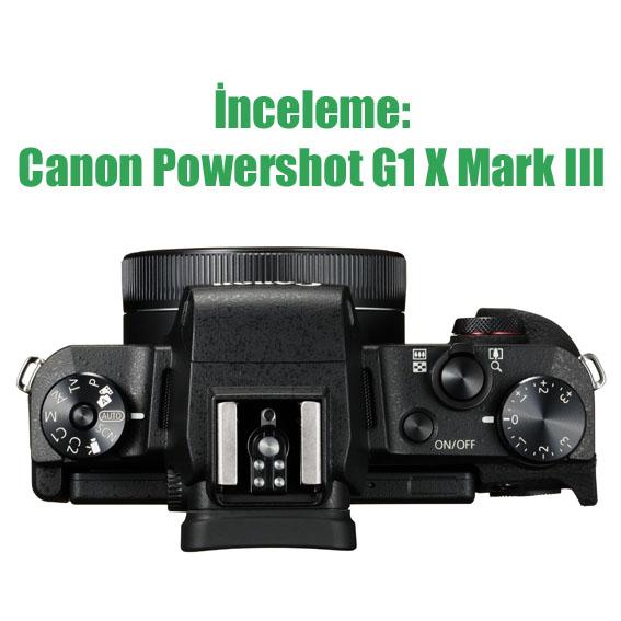 PowerShot G1 X Mark III Top Lens Folded - İnceleme: Canon Powershot G1 X Mark III