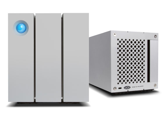 2big TBT2 front back - İnceleme: LaCie 2big 12TB Thunderbolt2