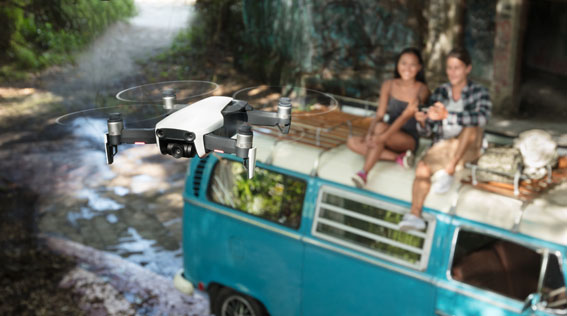 Mavic Air with friends - DJI Mavic Air geliyor!