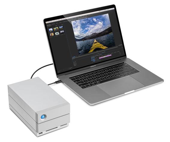 LaCie 2big Dock Back of Box Hi Res - İnceleme: LaCie 2big Dock Thunderbolt 3 16TB